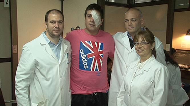 Nuevo trasplante de córnea en el hospital de San Isidro