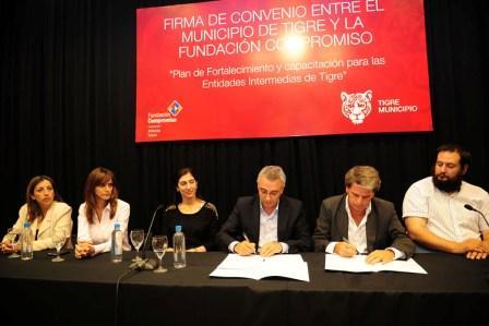 Tigre lanzó el Plan de Fortalecimiento y Capacitación para Entidades Intermedias