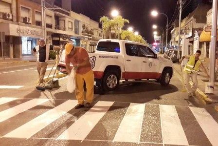 Gran operativo de mantenimiento y limpieza de los principales accesos a Tigre