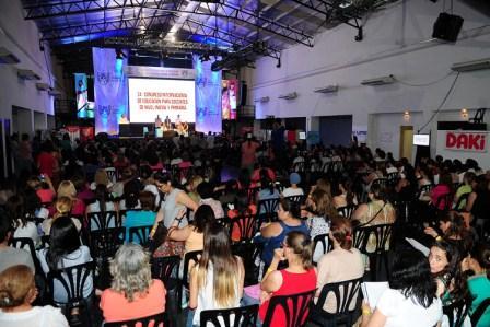 Arrancó el 34° Congreso Internacional de Educación para docentes de Nivel Inicial y Primaria en Tigre