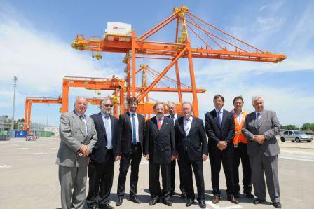 Parlamentarios alemanes recorrieron Astillero Río Santiago y Puerto La Plata