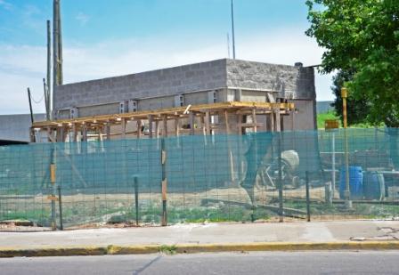 Avanza la construcción de la nueva Posta Policial de Av. Avellaneda y Acceso