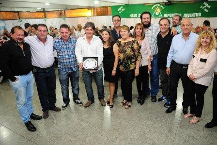 El Club Juventud de Rincón de Milberg festejó su 62 aniversario