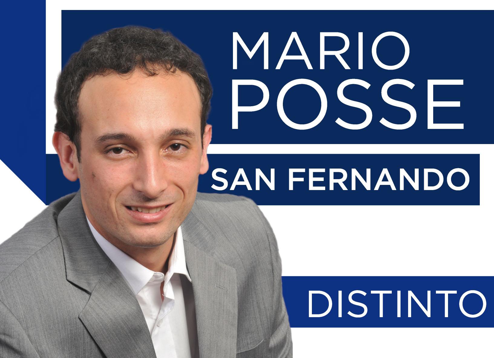 Mario Posse quiere hacer pie en San Fernando