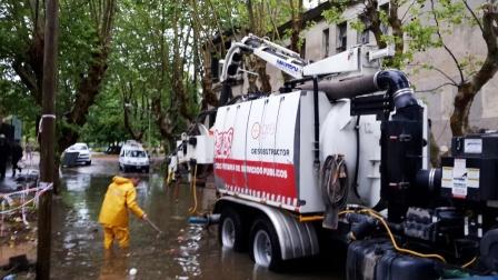 Realizan un amplio operativo en Tigre para recuperar las zonas afectadas por el temporal