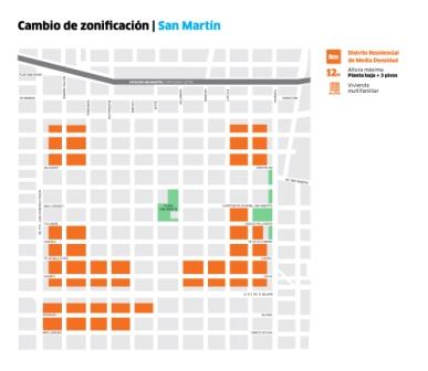 Se limita la altura de futuras construcciones en Villa Ballester y San Martín