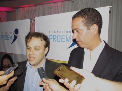 Cena de gala solidaria de la Fundación Proem en Vicente López