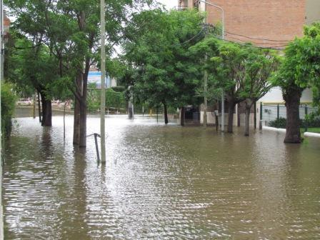 Sudestada en Tigre