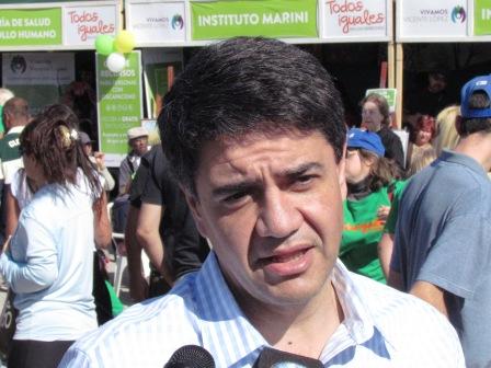"""Jorge Macri: """"La gente está preocupada por la crisis económica"""""""