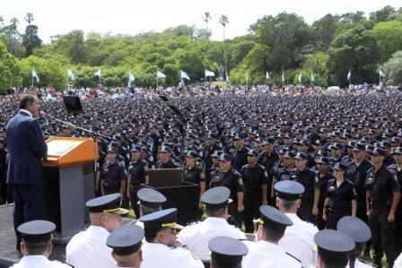Cinco mil policías bonaerenses que fueron al Operativo Sol fueron desplegados en la provincia
