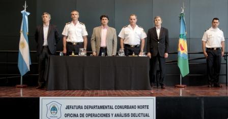 La Departamental Norte de la Policía de la Provincia festejó su 134º aniversario en Vicente López