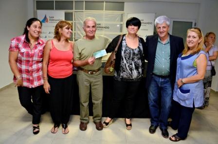 Luis Andreotti entregó subsidios a 24 Centros de Jubilados de San Fernando
