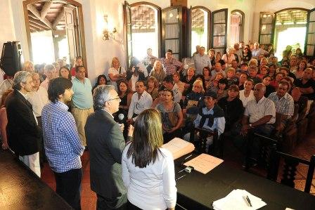 Más de 120 familias de Tigre obtuvieron sus escrituras
