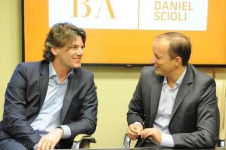 Martin Insaurralde y Nicolás Scioli acordaron la compra de maquinaria para Lomas de Zamora