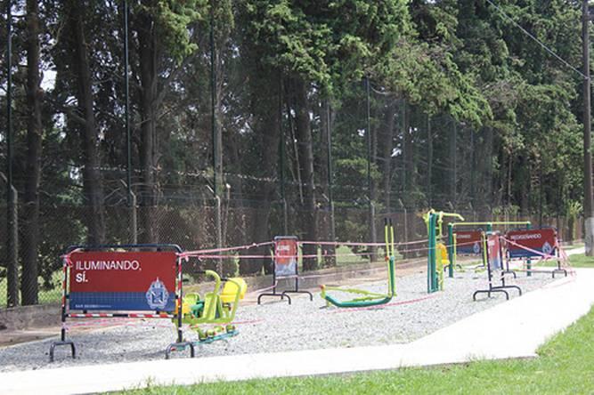 En 2014 San Isidro instaló más de 10 estaciones saludables  en plazas y corredores aeróbicos