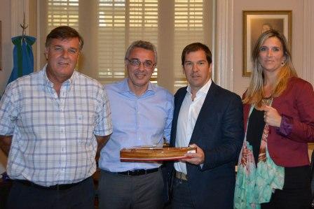 Tigre y Miramar firmaron un convenio de colaboración mutua