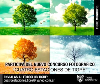 """Se lanzó el Concurso Fotográfico """"4 estaciones de Tigre"""""""