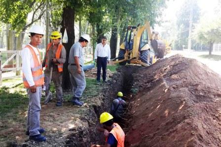 Tigre extiende la red de agua potable en el Barrio Las Tunas y Ricardo Rojas