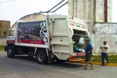 Tigre suma camiones municipales para la recolección de residuos