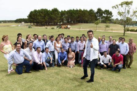 En Pinamar, el diputado nacional por el Frente Renovador encabezó una jornada de trabajo con jóvenes dirigentes de todo el país que forman parte de dicho espacio