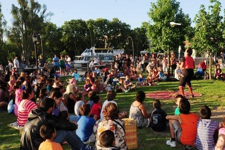 """Comienza en Tigre el Ciclo de """"Cultura vive en las plazas"""""""