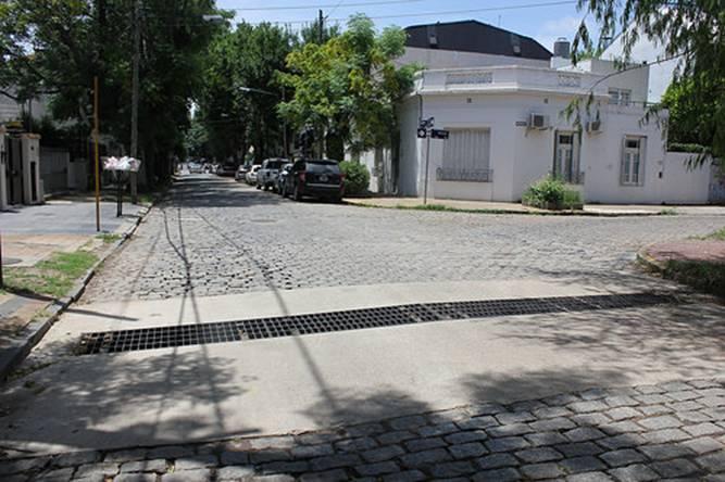 Finalizan la construcción del desagüe Laprida en San Isidro