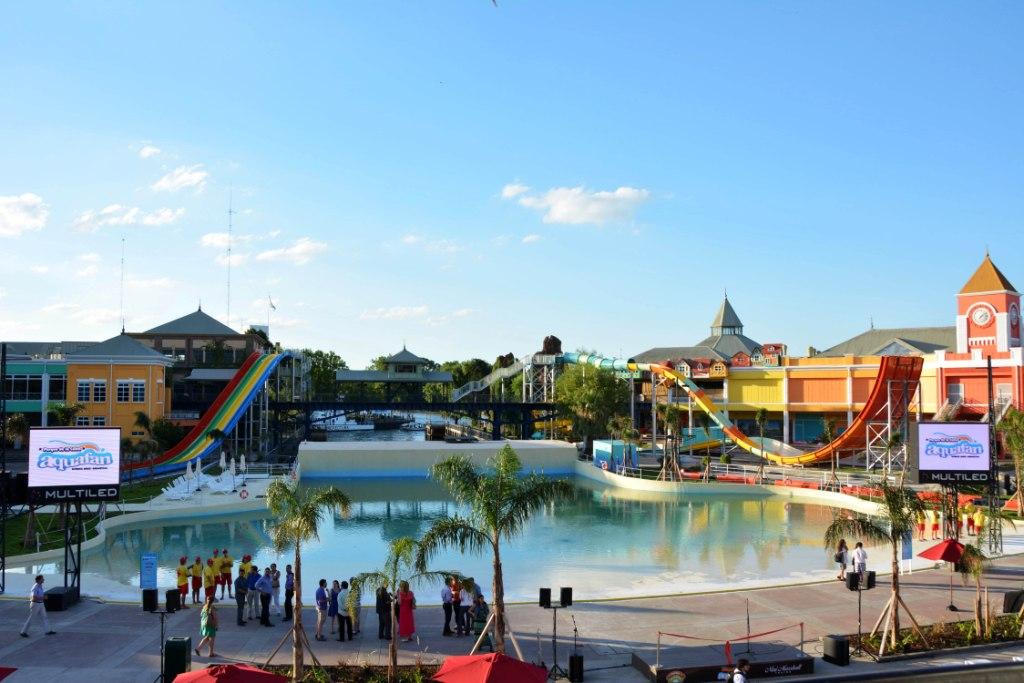 Se inauguró en Tigre el parque acuático Aquafan
