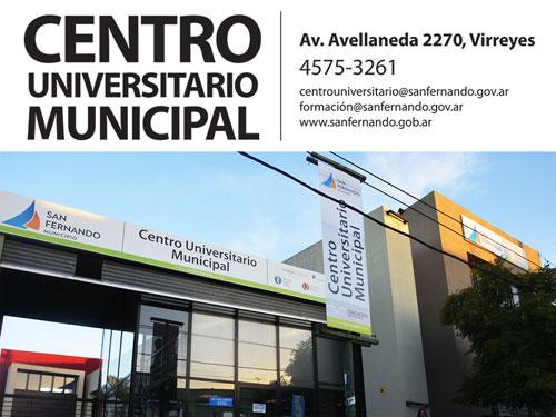 El Centro Universitario Municipal de San Fernando mantiene ... - elcomercioonline.com.ar