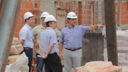 Avanzan las obras del Centro Universitario de Vicente López