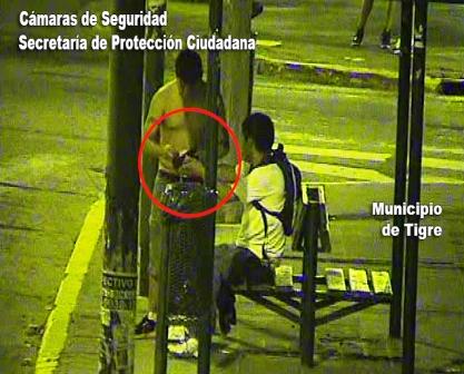 Evitan un robo en Tigre Centro tras ser detectado por las cámaras