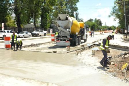 Nueva rotonda en Avenida Liniers y Ruta 197 en Tigre