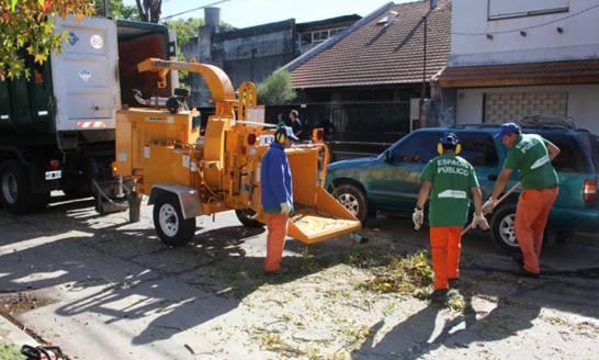 Comienza la campaña de poda en San Isidro