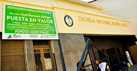 La  Escuela 40 J. G. Artigas de San Fernando iniciará las clases con nuevas instalaciones