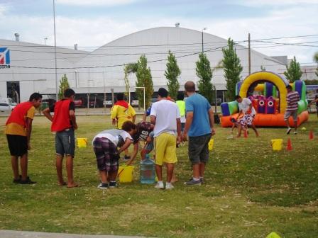 Los jóvenes del Programa Sumate festejaron el cierre de la Colonia de Verano