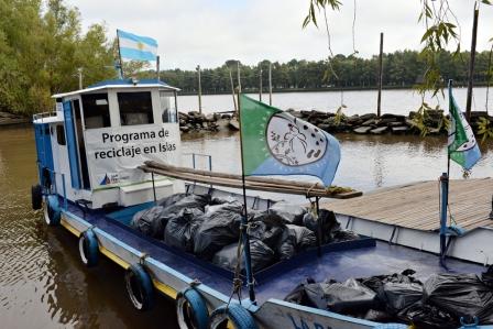 San Fernando recolectó más de 100 toneladas de residuo entre enero y febrero