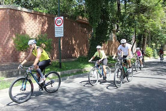 Amplían el horario de la senda prioridad ciclistas en el bajo de San Isidro