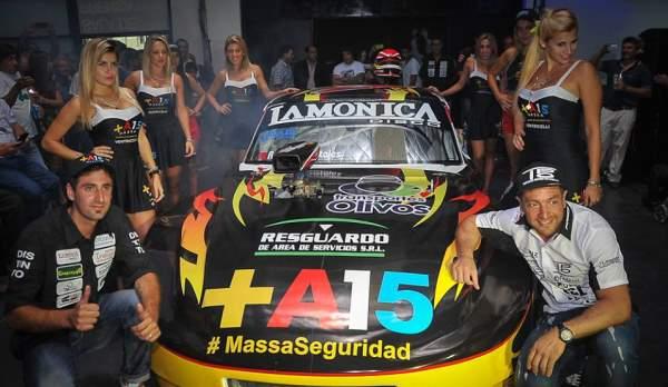 """Presentaron el """"Jumbo"""" de Tigre que competirá en el TC Regional GTA"""