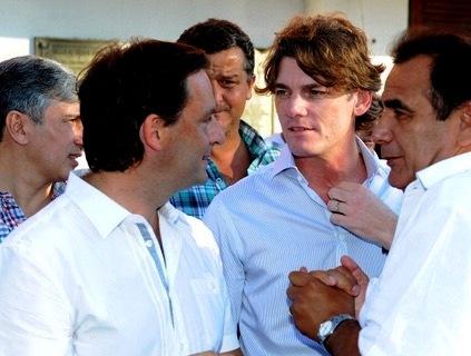 Fuerte respaldo de Nicolás Scioli a Ariel Sujarchuk en Escobar