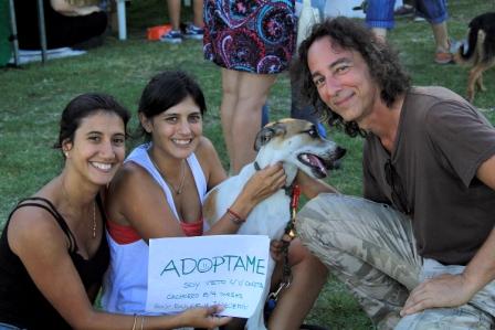Javier Calamaro con su música concientizó sobre la importancia de adoptar mascotas