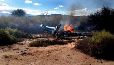 """El """"error humano"""" sería la causa del choque de helicópteros en La Rioja que conmociona a Francia"""