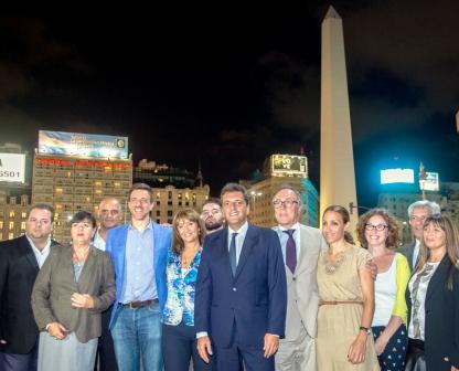 Massa presentó su equipo para la Ciudad de Buenos Aires