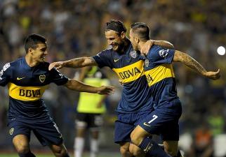 Boca goleó a Zamora y quedó muy cerca de la clasificación