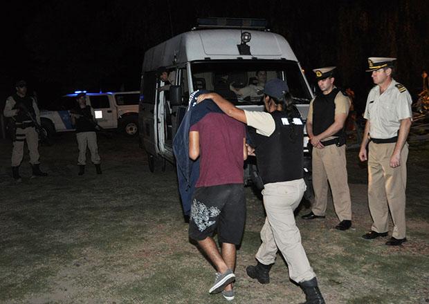Prefectura detuvo a cinco hombres por el asesinato de una persona en el Delta