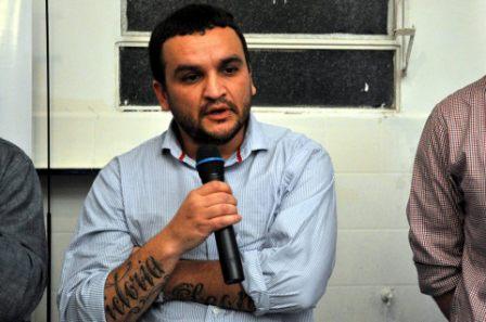 Gustavo Matias, referente de La Cámpora