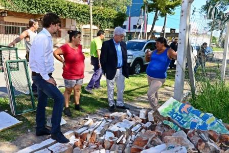 Se iniciaron las obras de la nueva sede del Programa Sumate en San Fernando