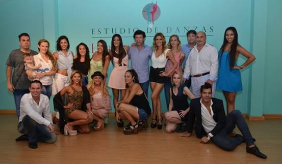 Silvina y Vanina escudero inauguraron su escuela de danza en San Isidro