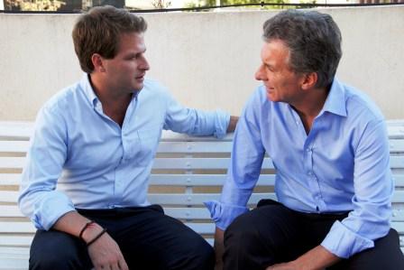 Mauricio Macri recibió al candidato a intendente de San Fernando Alex Campbell