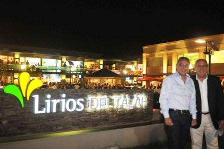 Se inauguró el Centro Comercial