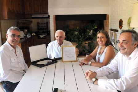 Cálido homenaje de Tigre al ex intendente Hiram Gualdoni