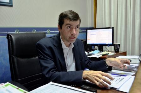 El Secretario de Economía del Municipio de San Fernando, Facundo Fernández